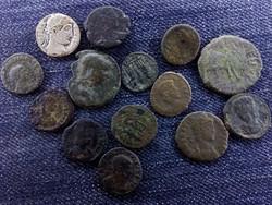 14 db-os római bronz tétel/id 6118/