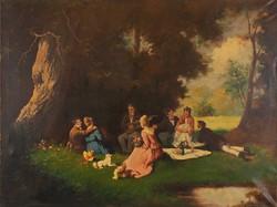 Pammer János (1885-?): Piknik