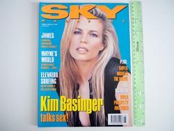 Sky magazin 1992/6 Kim Basinger James IRA Joey Negro Antonio Banderas Bojesse Christopher