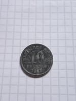 """10 Pfennig 1921 """" A """" !   ( 4 )"""