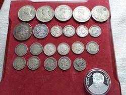 Ezüstpénz gyűjtemény