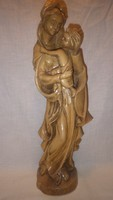 Farkas Zoltán fantasztikus vallásos fafaragás szobor