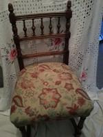 kemény fa szék Ó Német stílus jegyekkel