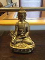Gyógyító Buddha szobor, ázsiai, keleti, kínai