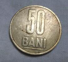 Román pénz - érme, 50 bani (2006)