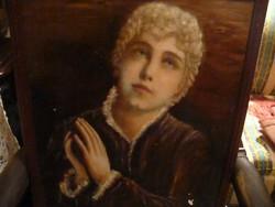 "Régi kép ""Fiú portré"""