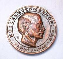 BME Kandó Kálmán, Közlekedésmérnöki Kar emlékérem 1982