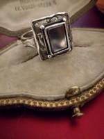 Izraeli kézműves ezüst egyedi gyűrű