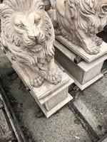 Antik márvány oroszlán pár