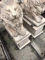márvány oroszlán pár
