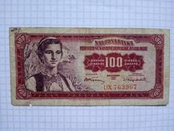 Ritka 100 Dínár 1955 !!
