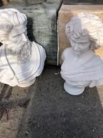 Mellszobor kompozíció(márvány)