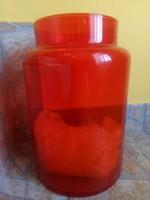 Nagy méretű üveg gyertyatarto