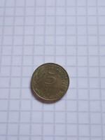 5 Centimes Franciaország 1968 !  ( 2 )