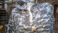 Kapucnis pihe könnyű kabátka-kardigán-pulóver  Vero Moda M