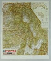 0V424 SZÉKELYFÖLD térkép M.KIR. HONVÉD TÉRKÉPÉSZET