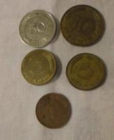 Német pénz - érme, Pfennig (NSZK, Hamburg) 2.
