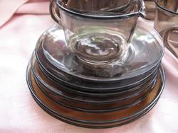 ARCOROC FRANCE kávés, teás füst színű kiöntő