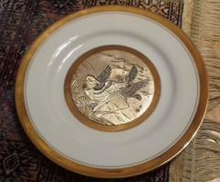 CHOKIN japán 24 karátos arannyal díszített tányér