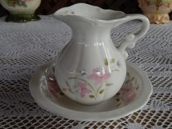 Angol Bone China England porcelán asztali kézmosó