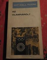 Terényi Imre : Mit kell tudni az olimpiáról?