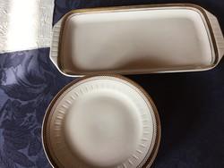 Kahla atelier-design porcelán sütis, süteményes