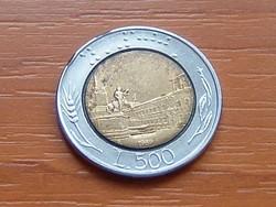OLASZ 500 LÍRA 1989