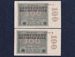 2 db 100 millió német márka 1923/id 6493/