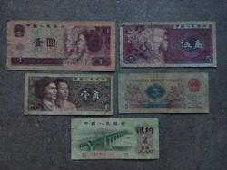 5 db kínai yinhang/id 6536/