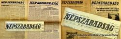 SZÜLETÉSNAPRA! 1985 március 20  /  NÉPSZABADSÁG  /  Régi ÚJSÁGOK KÉPREGÉNYEK MAGAZINOK Szs.:  9550
