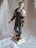 Herendi Hamlet Makulátlan(Vitrin állapotú)porcelán figura