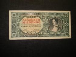 100000 milpengő 1946 sortávolság! 2.