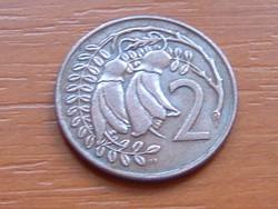 ÚJ-ZÉLAND NEW ZEALAND 2 CENT 1974
