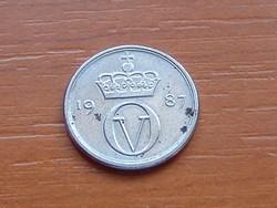 NORVÉGIA 10 ŐRE 1987