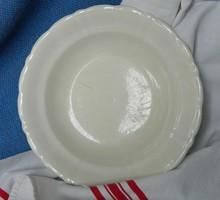 Antik Opaque de Sarreguemines leveses tányér, gyűjtői