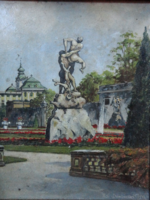 Eduard (Edi) von Dembinsky eredeti festménye!