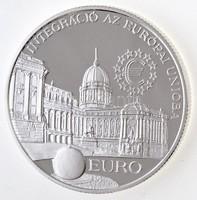 Ezüst  2000 Forint Integráció az EU-ba Leírással