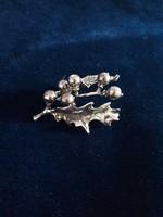 Csodás ezüst fagyöny miniatűr 925-ös