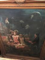 Atlantisz ,FestményTenger világ /sellők/istenek