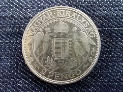 Madonnás ezüst 2 Pengő 1937/id 1655/