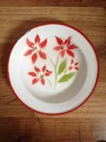 Budafoki zománcos tányér