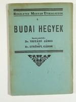 1934-es ritka könyv , Budai hegyek