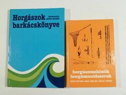 Ritka horgász könyvek,olcsón
