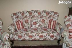 Ónémet oroszlánlábas kanapé