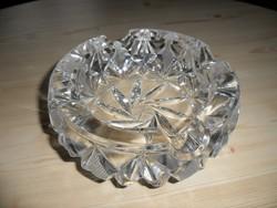 Retro kristály hamutál, hamutartó