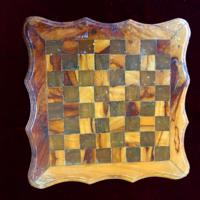 Intarziás sakktábla