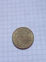 Szép 20 Centimes Franciaország 1969 !