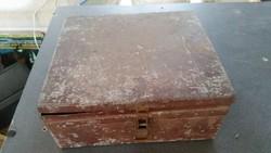 Antik fém doboz,kazetta eladó!