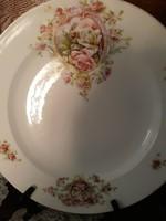 Austria porcelán tál,gyönyörű,ritka dekorral!