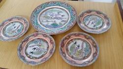 Kínai porcelán tányér eladó! 5 db